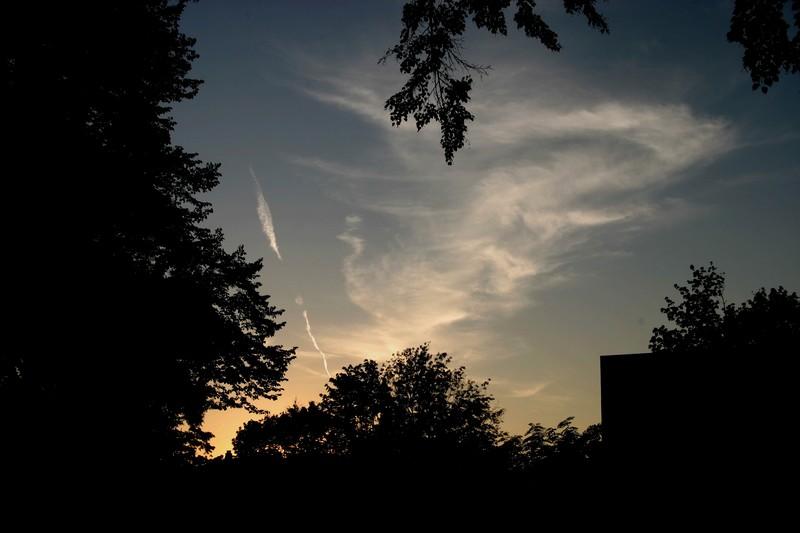 Rückfahrt in den Sonnenuntergang I