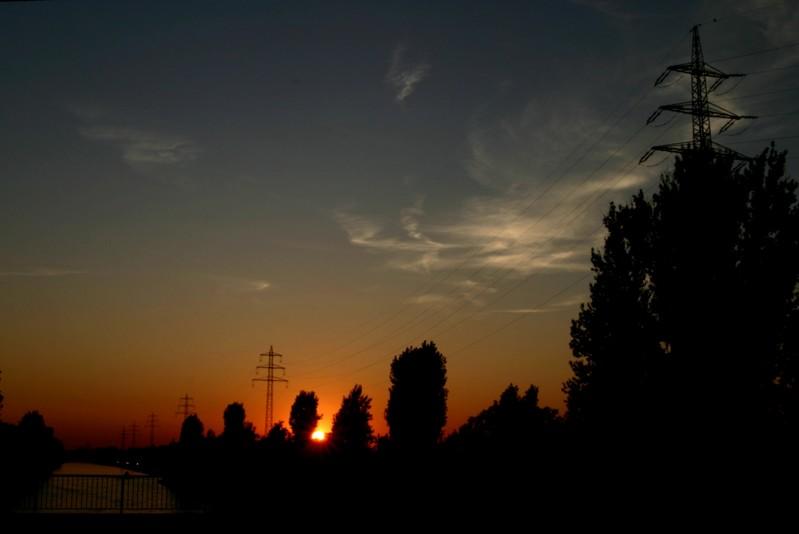 Rückfahrt in den Sonnenuntergang IV