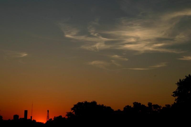 Rückfahrt in den Sonnenuntergang V