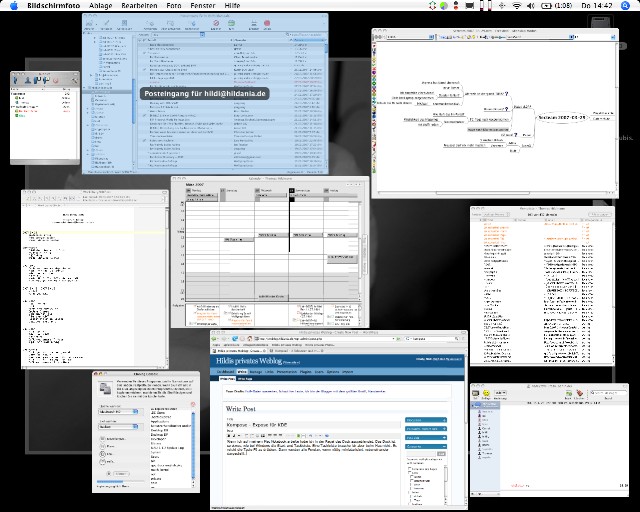 Exposé auf dem Mac