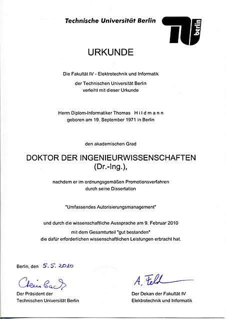 Promotionsurkunde Hildmann T.png