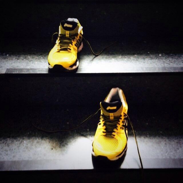Meine neuen Laufschuhe