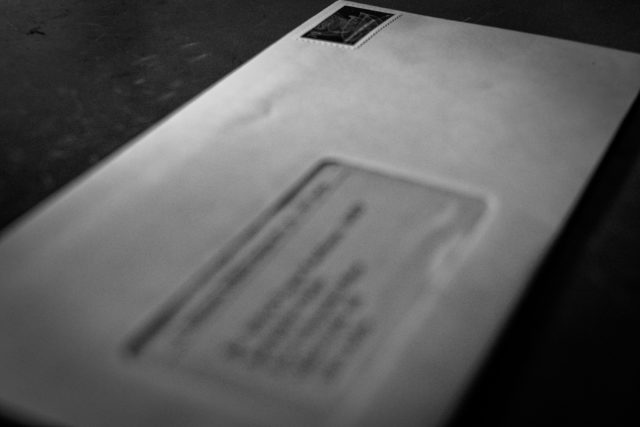 Klassischer Brief